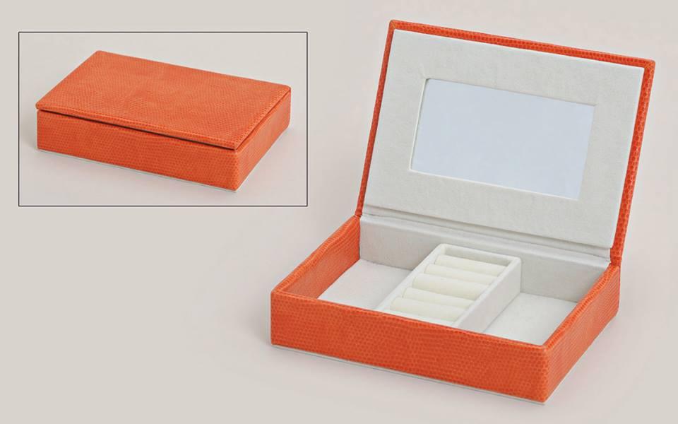 Cutie bijuterii-orange