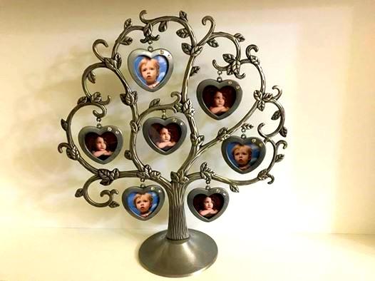 Rama foto Metal Tree