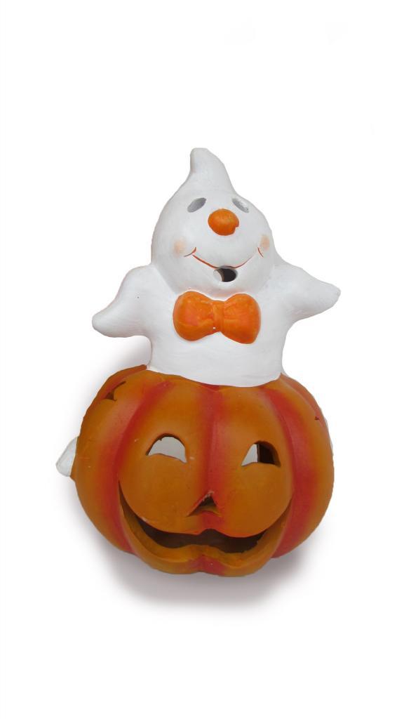 Suport lumanare Phantom Pumpkin mediu