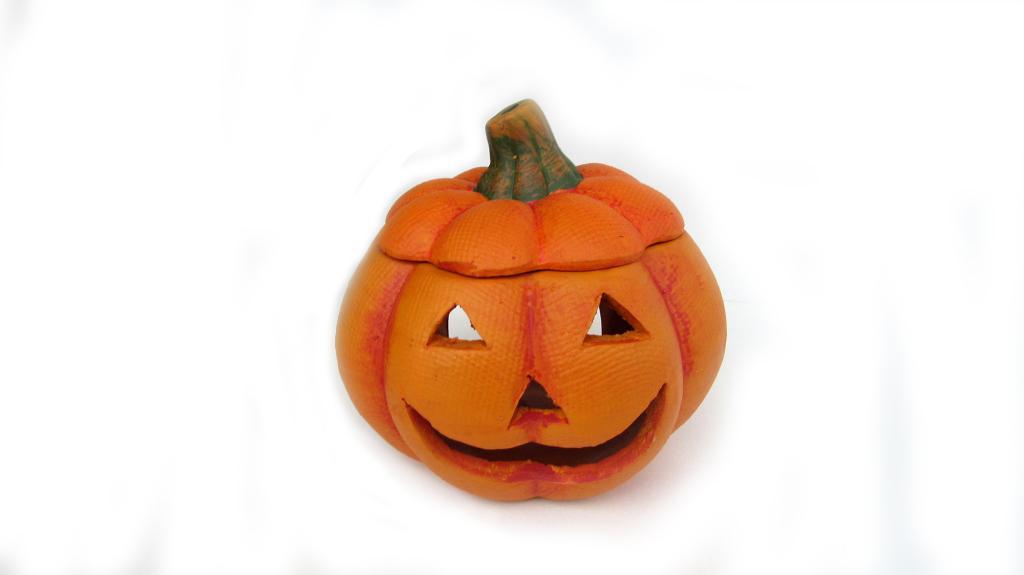 Suport lumanare Pumpkin