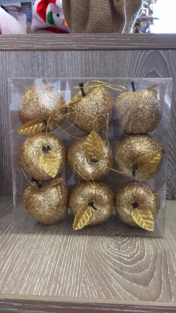 Set 9 buc mere decorative arămii