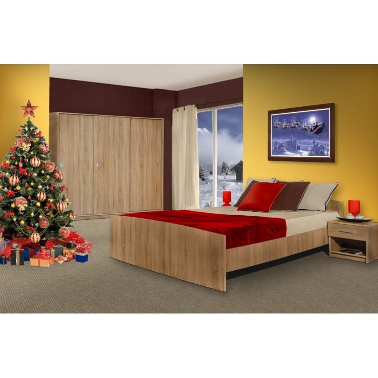 Dormitor SIRIUS D3 sonoma