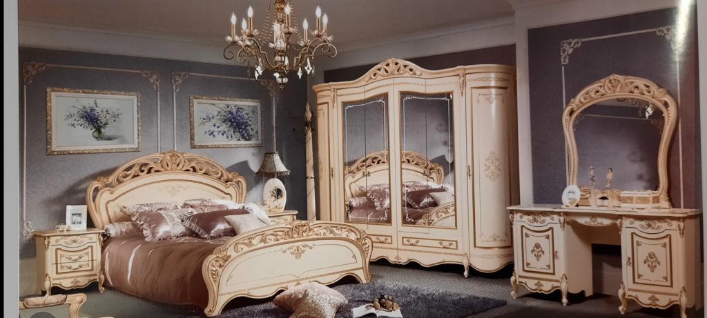 Dormitor Allegro, alb